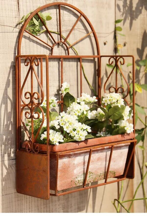13 Stunning Wrought Iron Plant Stand That Will Brighten Up Your Home
